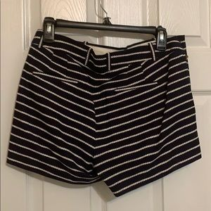 J. Crew Shorts - J Crew Sailor shorts. Navy with white stripes